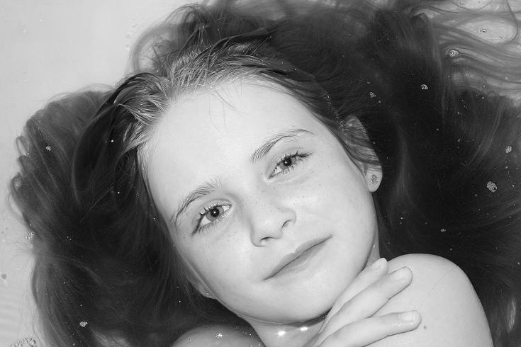 la niña de mis ojos...