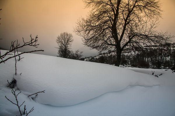 La nieve de febrero