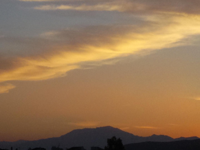 La nube solitaria