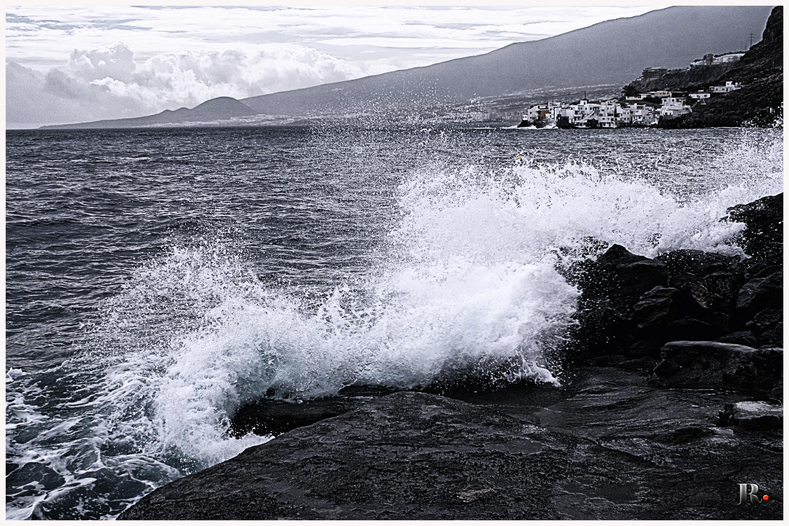 La ola en punto