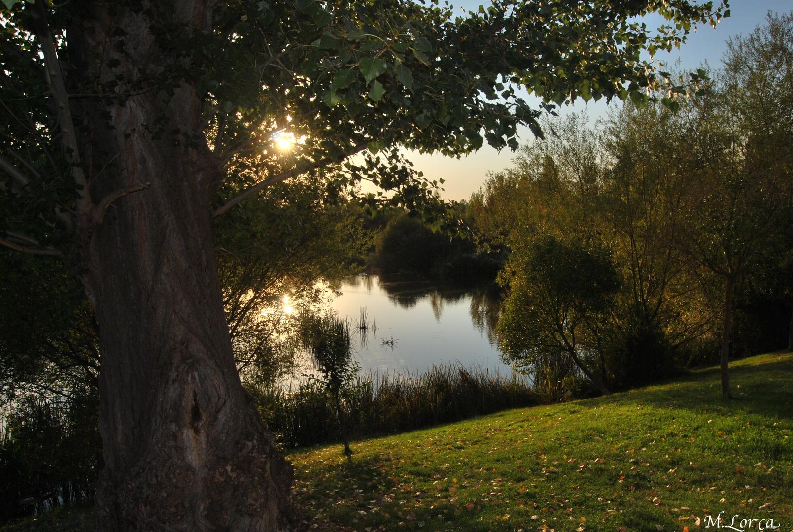 la orilla del rio tormes Salamanca
