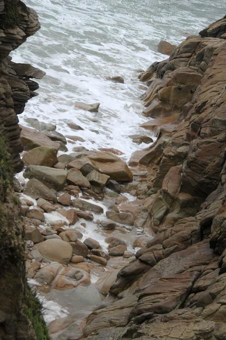 Là ou s'arrête les vagues et l'écume.