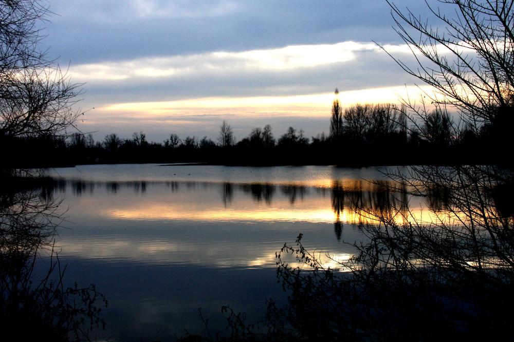 la paix sur le lac