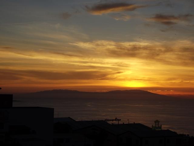 La Palma im Sonnenuntergang