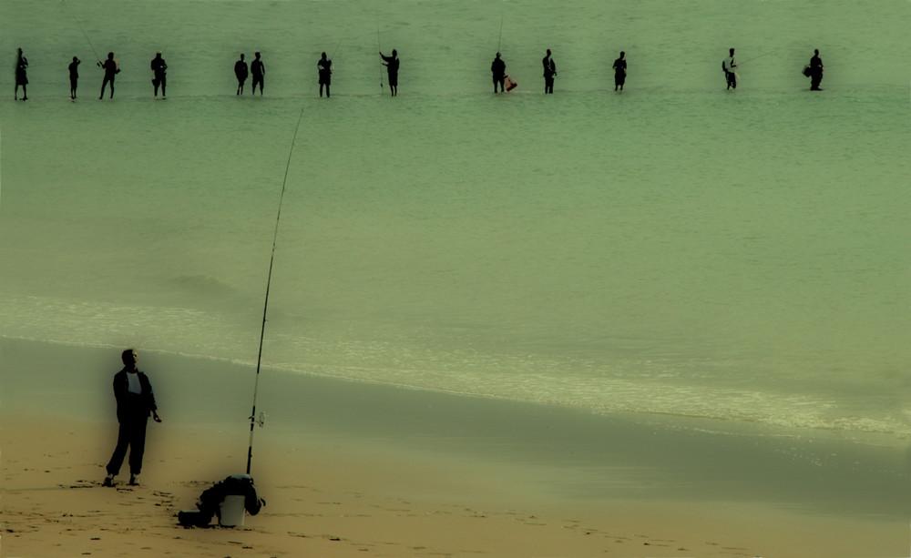 la partie de pêche