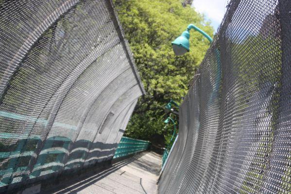 La passerelle du jardin secret, New York City