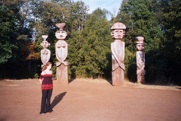 La Patagua - Totem der Mapuche