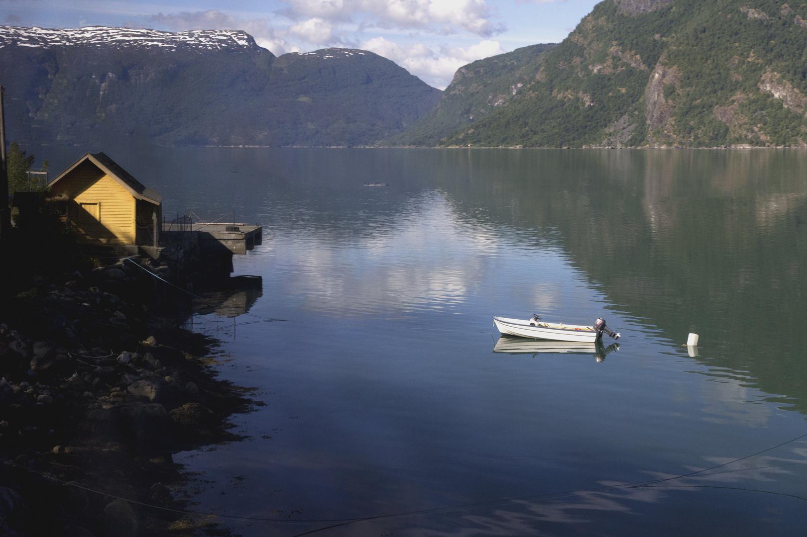 La paz del fiordo