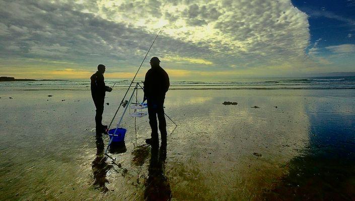La pêche au bar