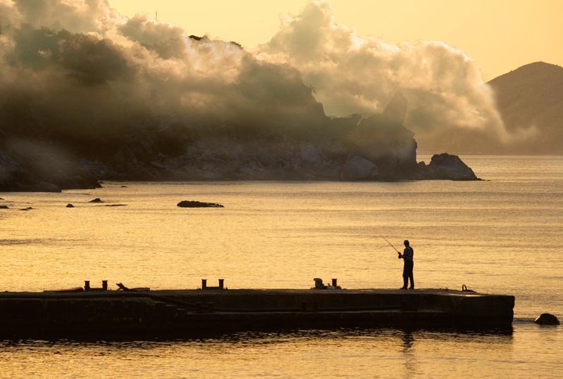 la pêche matinale