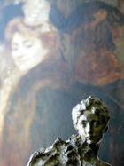 La peinture regarde la sculpture