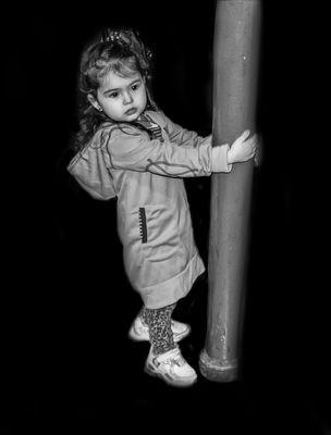 La pequeña