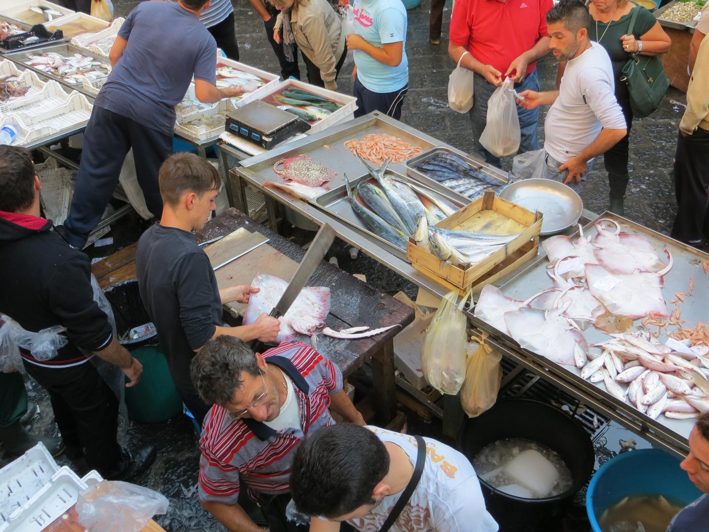 La pescheria Catania 1