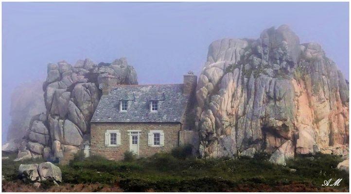 La petite maison de Plougrescant