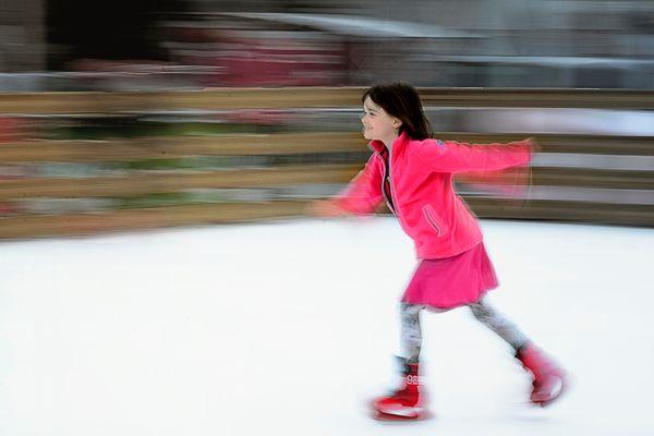 La petite patineuse