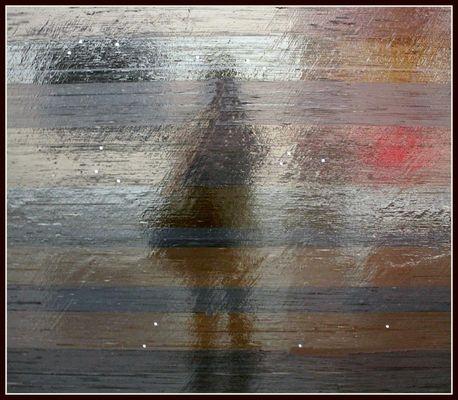 La photographe dans le tableau luisant