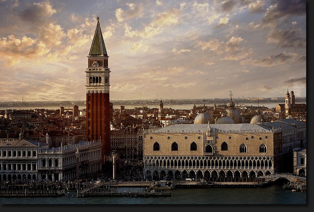 La Piazetta - Venedig Vers. II