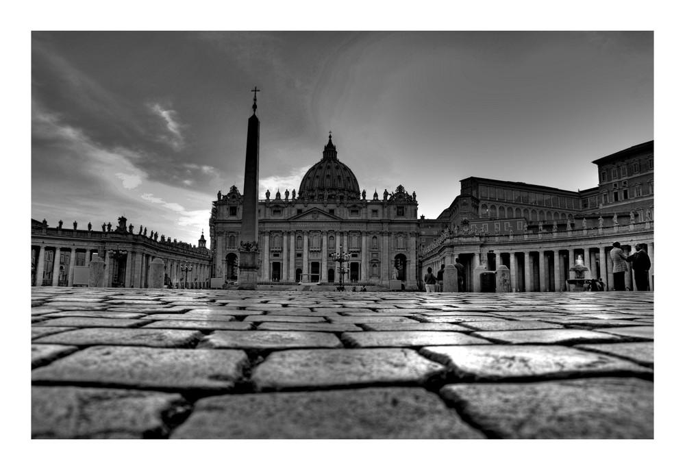 La piazza di Roma