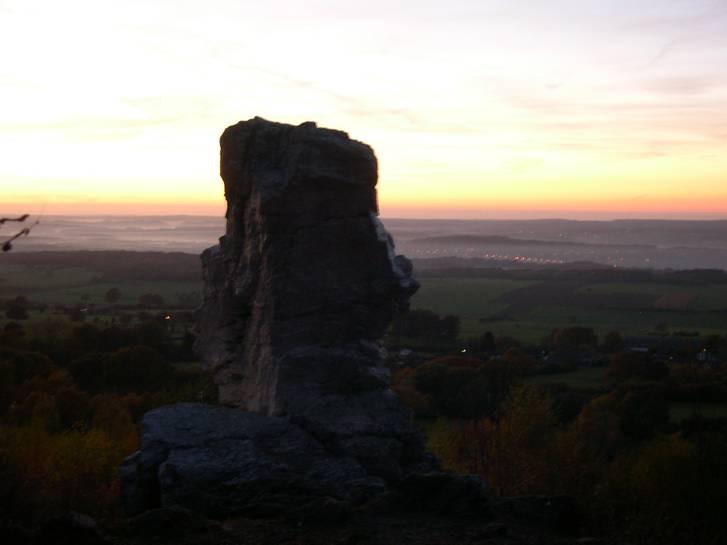 La pierre de Haina...................à Wéris.
