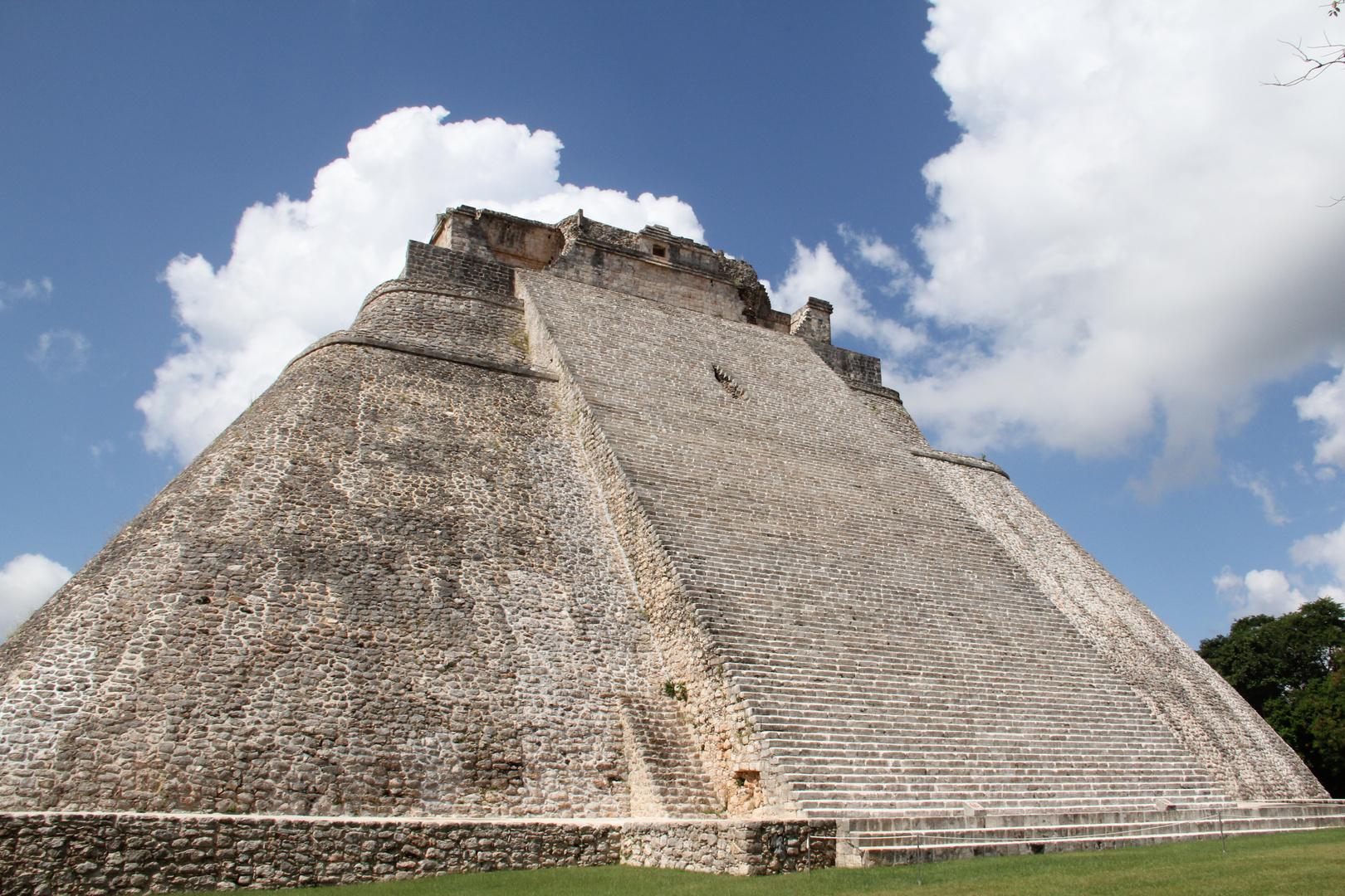 La Pirámide del Adivino, en Uxmal.