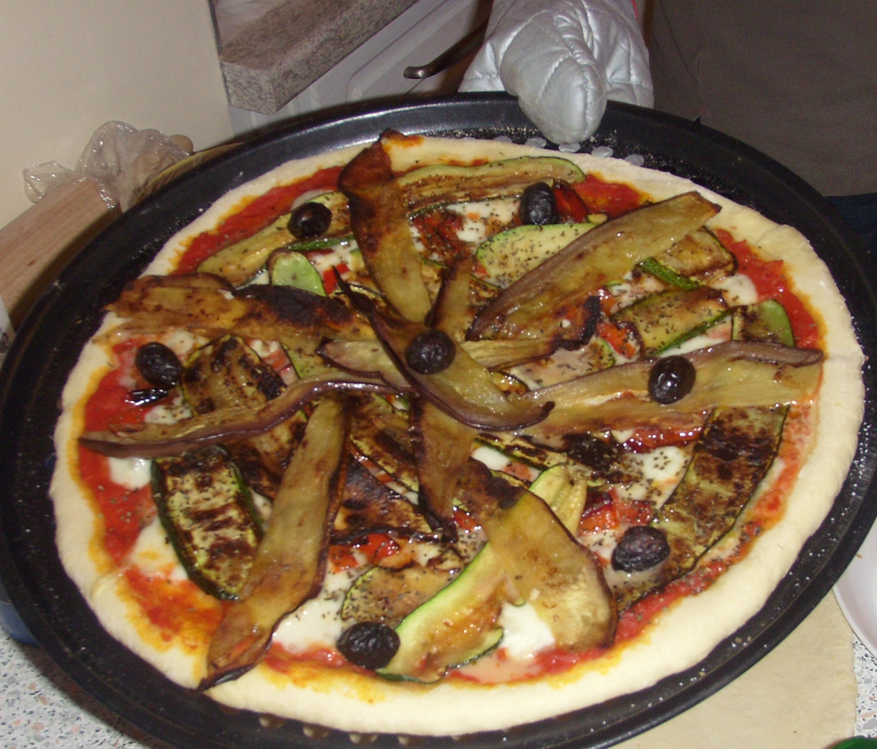 la pizza du chef!!