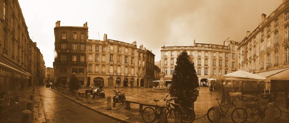 La place du parlement (Bordeaux)