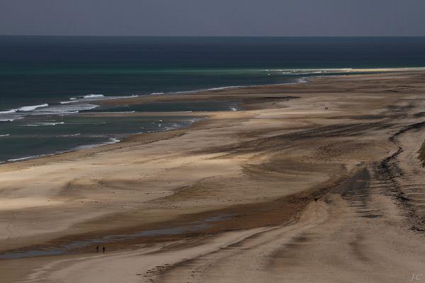 """"""" La plage d' Hatainville """""""