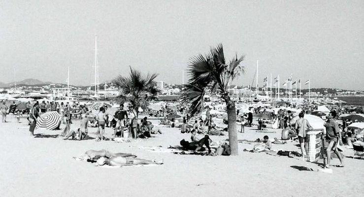 la plage de Frejus