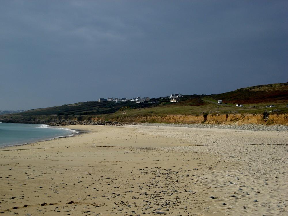 la plage de gwendrez plouhinec 29