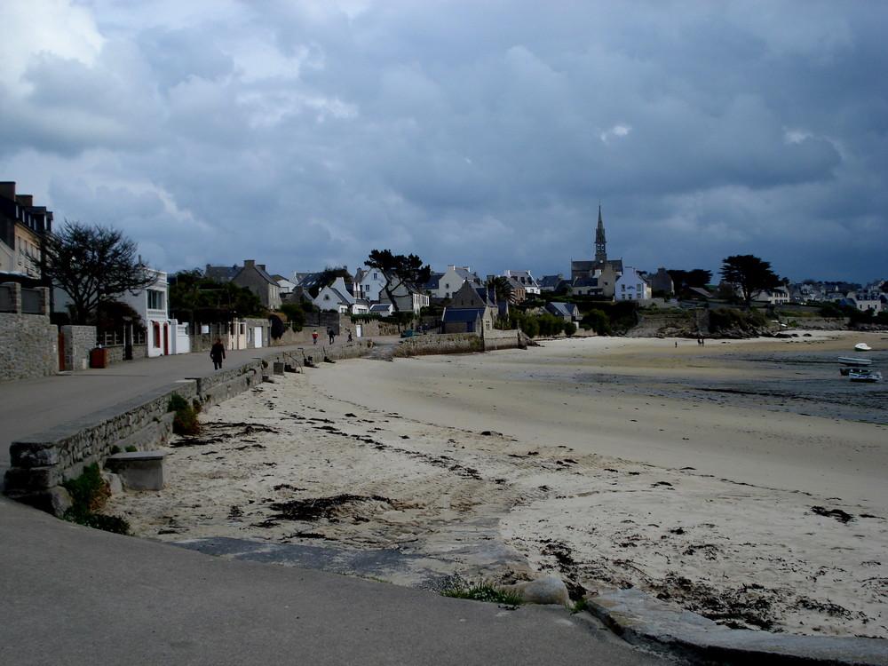 la plage de l ile de batz