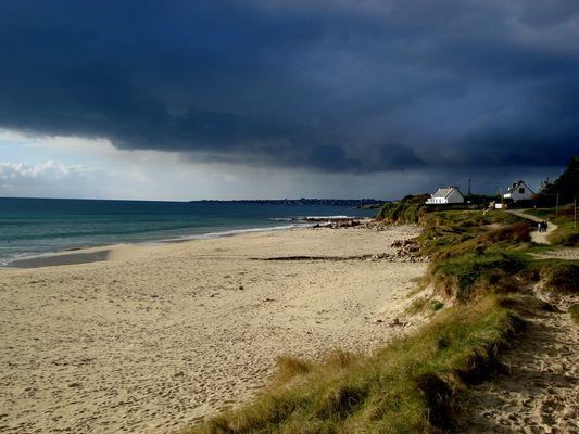 la plage de mesperleuc plouhinec ( 29 )