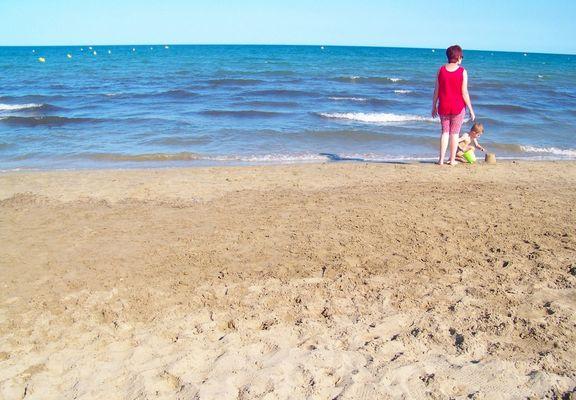 La plage de Port la Nouvelle