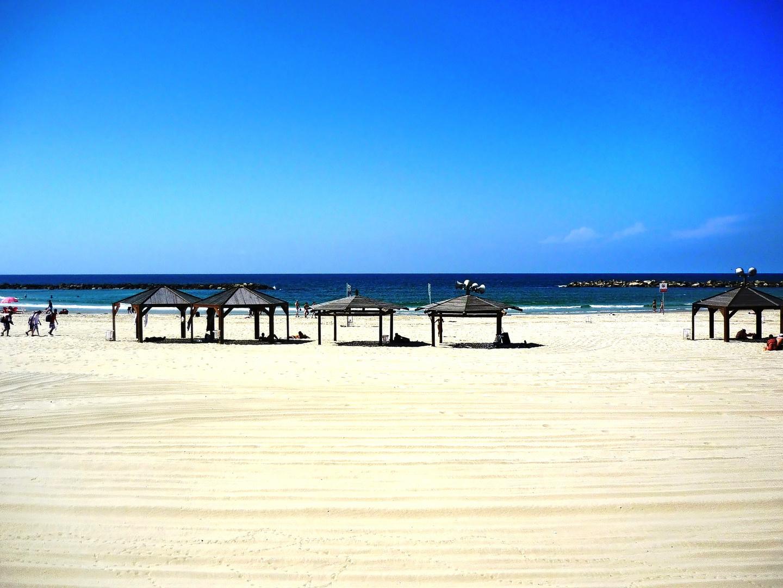 La plage de Tel-Aviv