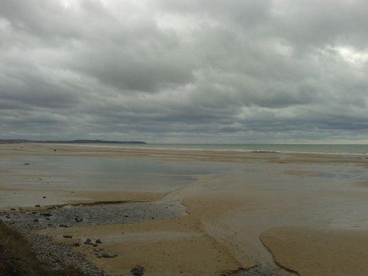 la plage de Wissant en automne