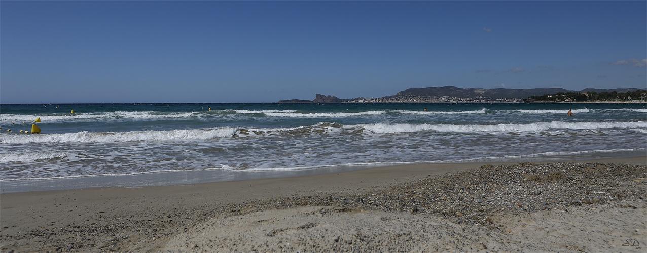 La plage des Lecques