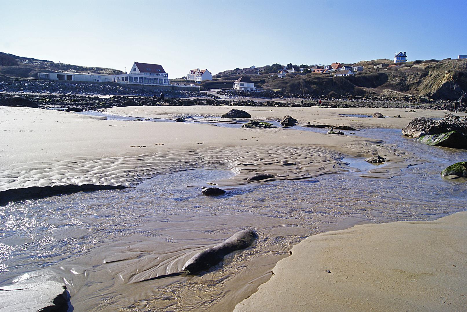 la plage du Cap Gris Nez, Pas de Calais