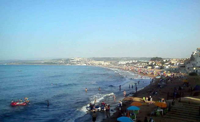 La plage du Chenoua, willaya deTipaza (Algerie).