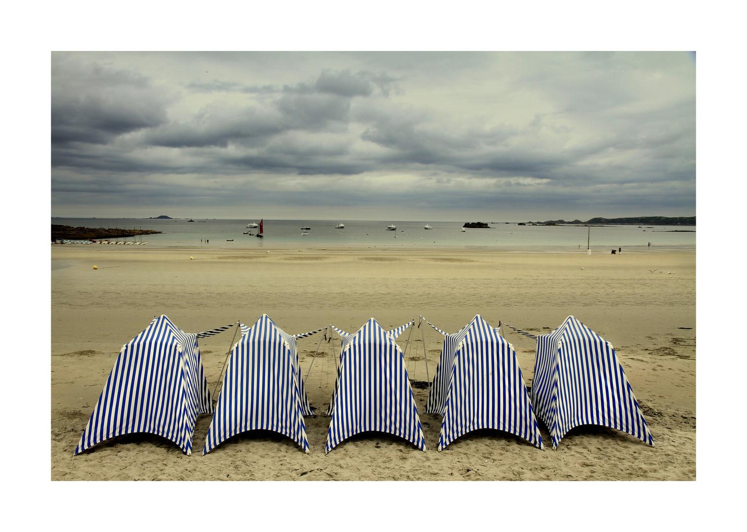 La plage du Trestraou
