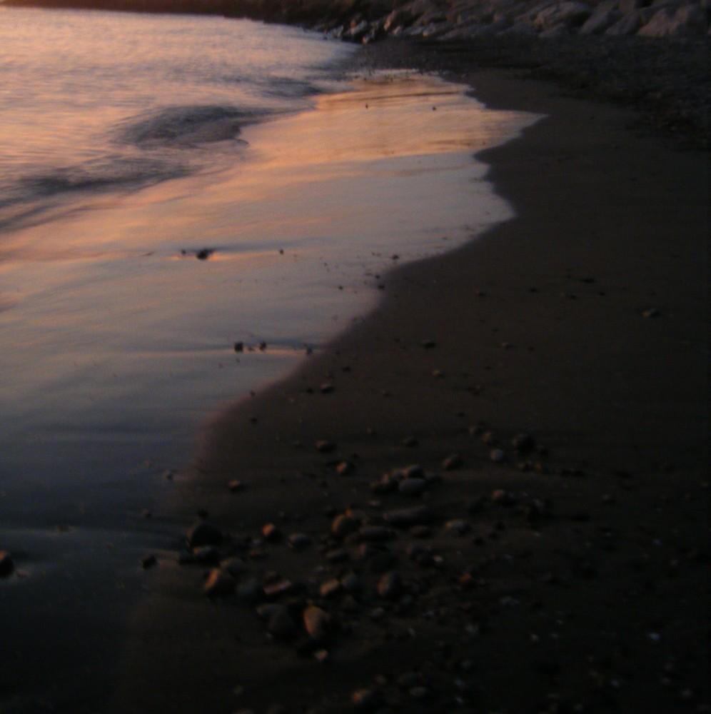 La plage méditeranéenne