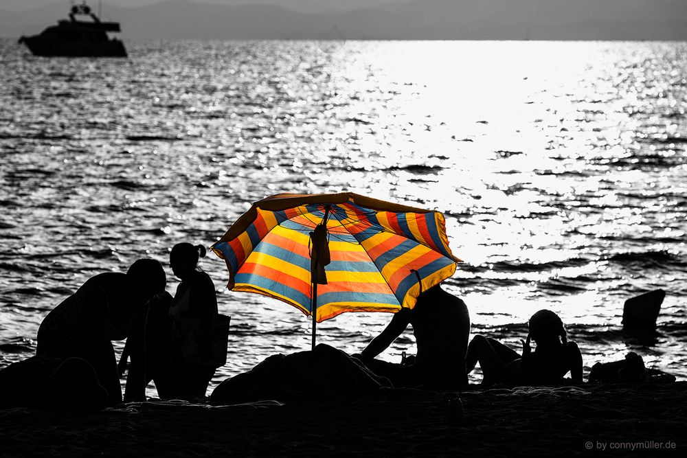 La platja