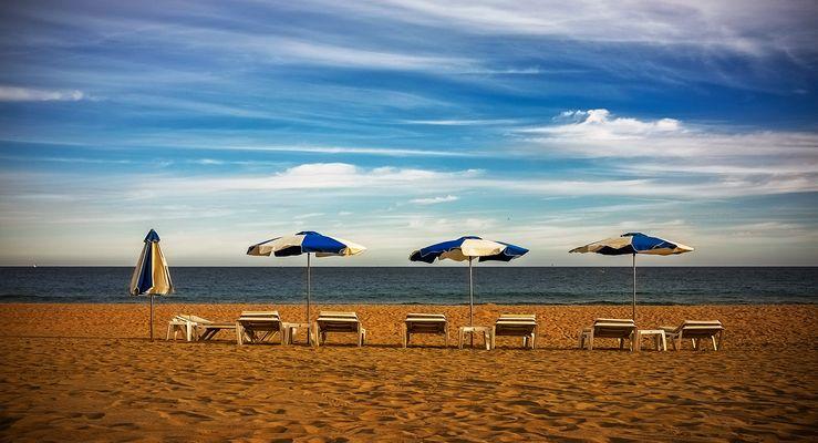 La playa. 1 de Noviembre