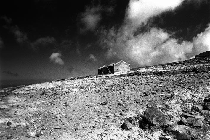 La Playa-Gomera ca. 1000m den Berg hinauf...