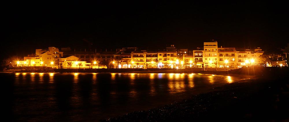 La Playa (Valle Gran Rey) at Night