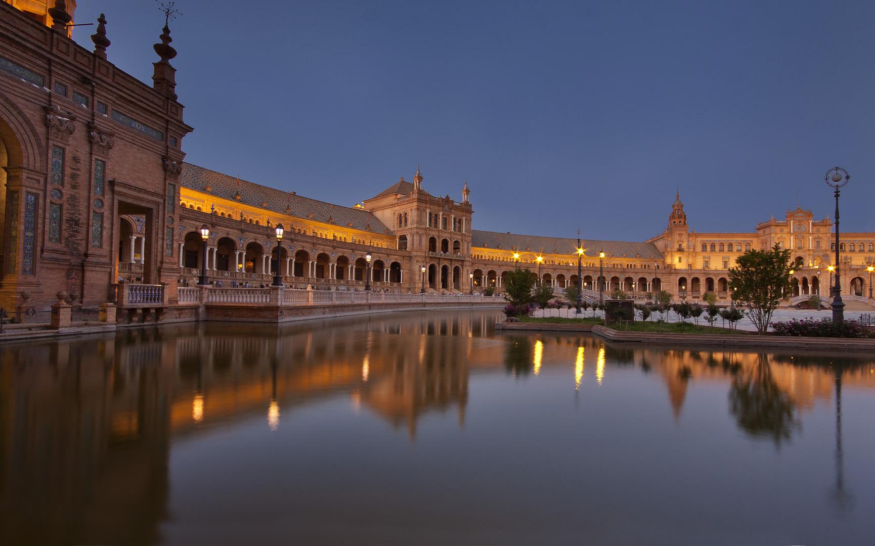 La Plaza de España (Sevilla)
