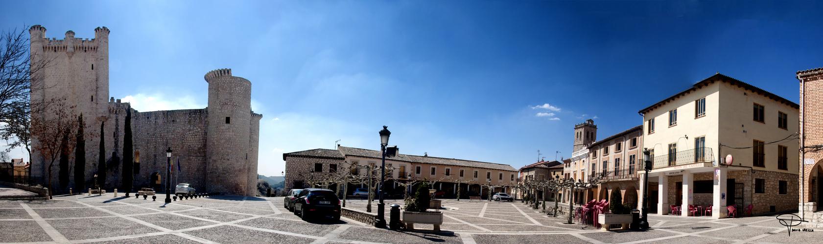 La plaza de mi pueblo