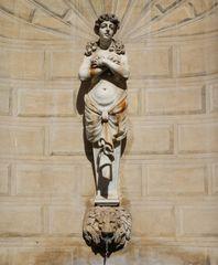la poco conosciuta Fontana delle Mammelle, Piazza Capo di Ferro