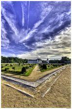La pointe du Jardin de Diane de Poitiers au château de Chenonceau