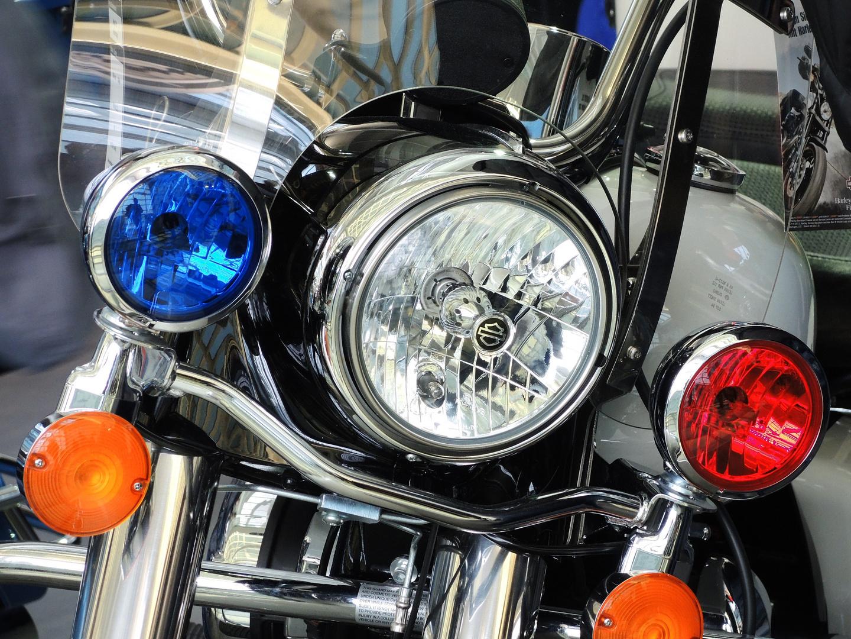 LA Police Motorbike