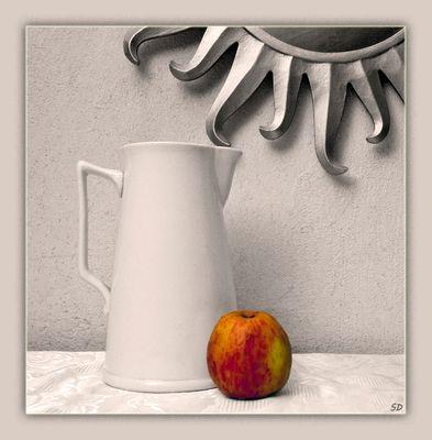 La pomme.