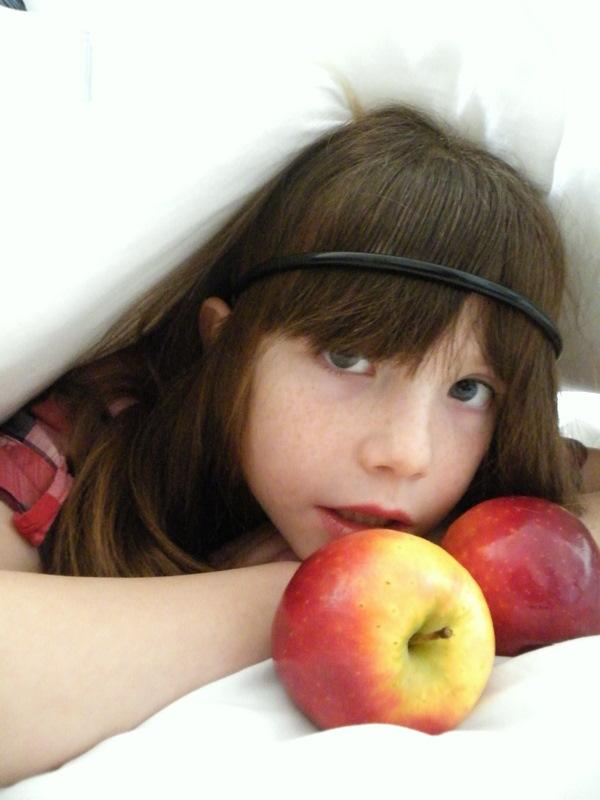 La pomme et l'enfant